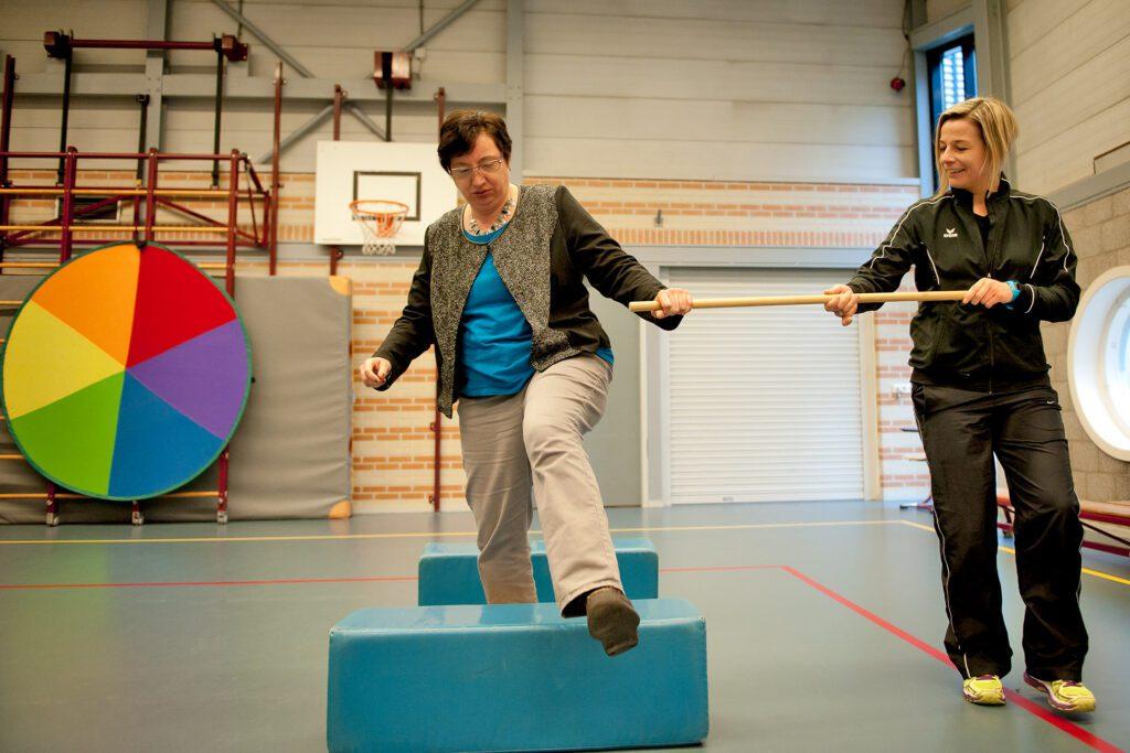 Janneke Veltkamp sport gymzaal bewegen