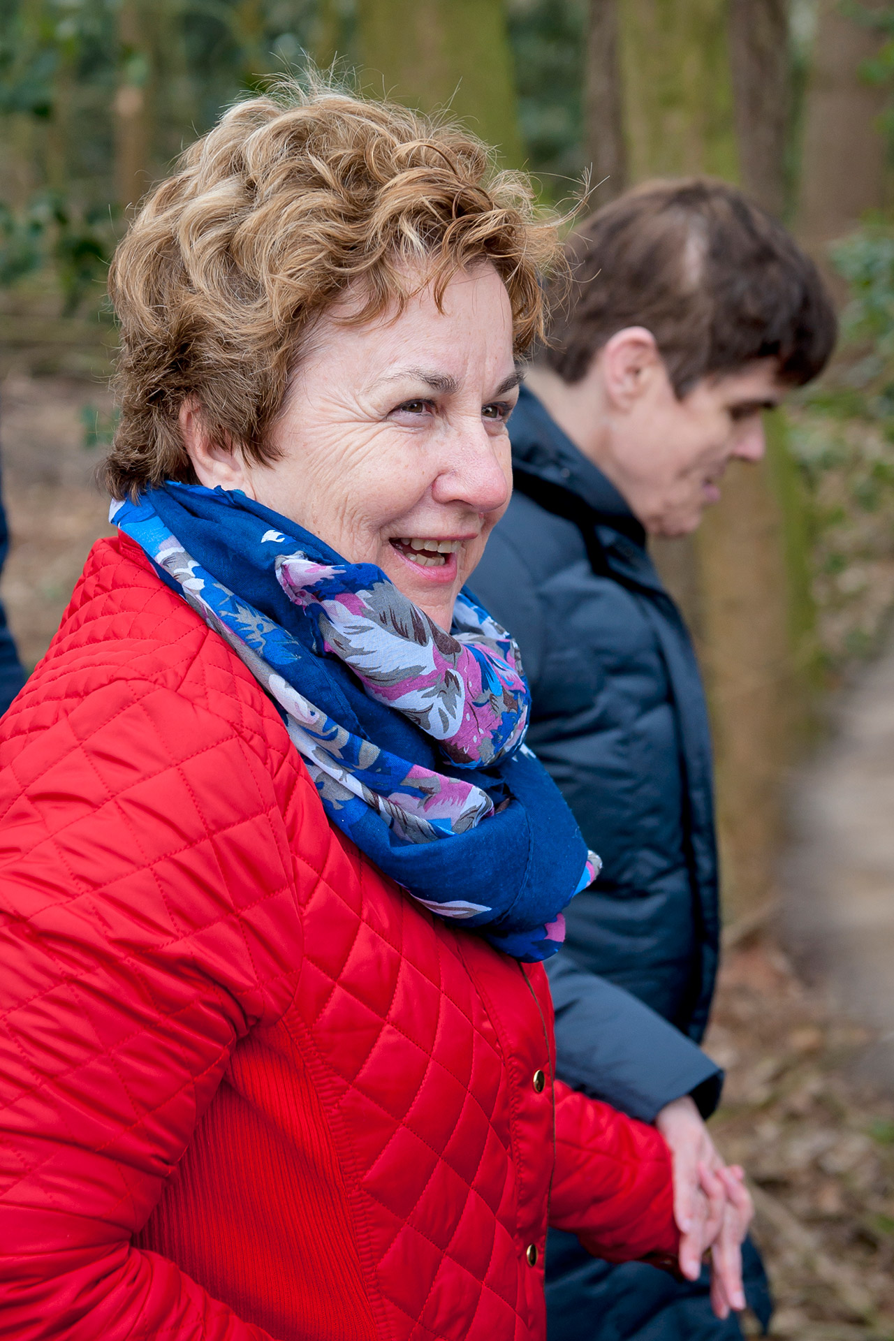 Vrijwilligers S&L Zorg, Annelies Hermans wandelen