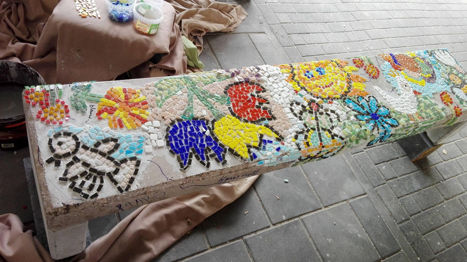 Mozaiekproject S&L Zorg De Toltuin