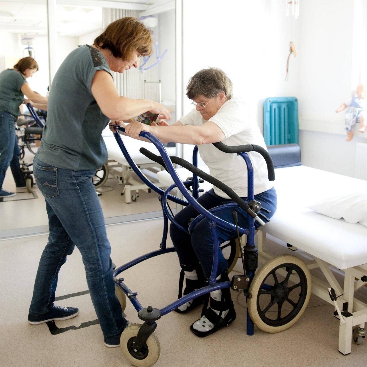 Fysiotherapie behandeling oefening
