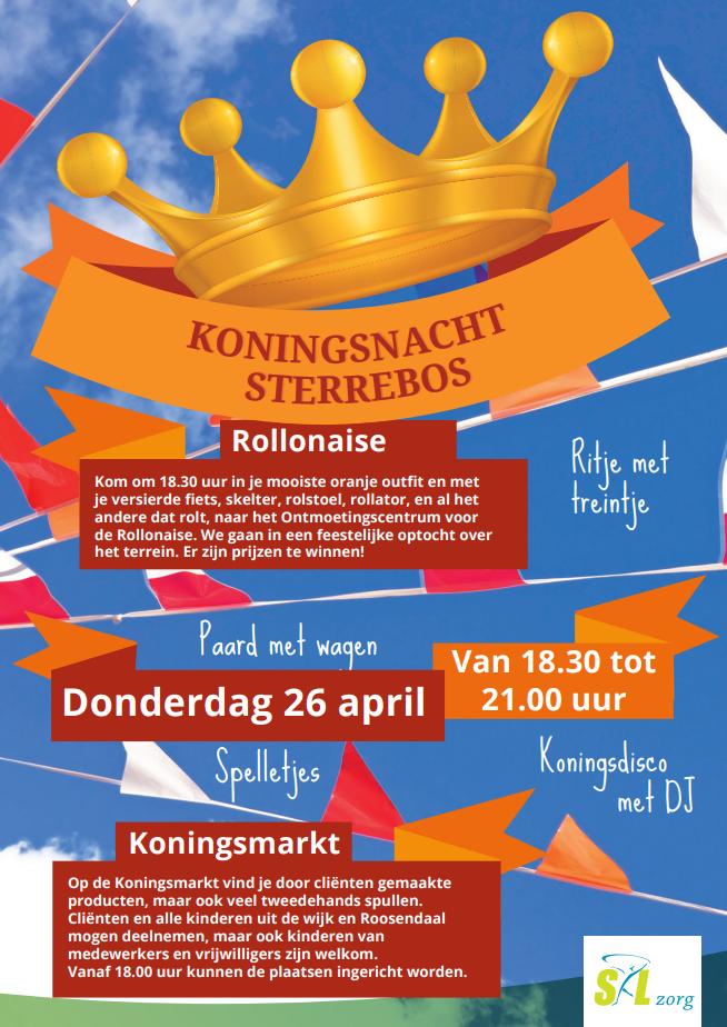 Koningsnacht Sterrebos Roosendaal 2018